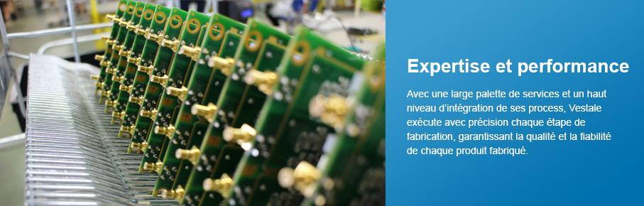 Expertise et performance - Vestale Étude et Fabrication Électronique